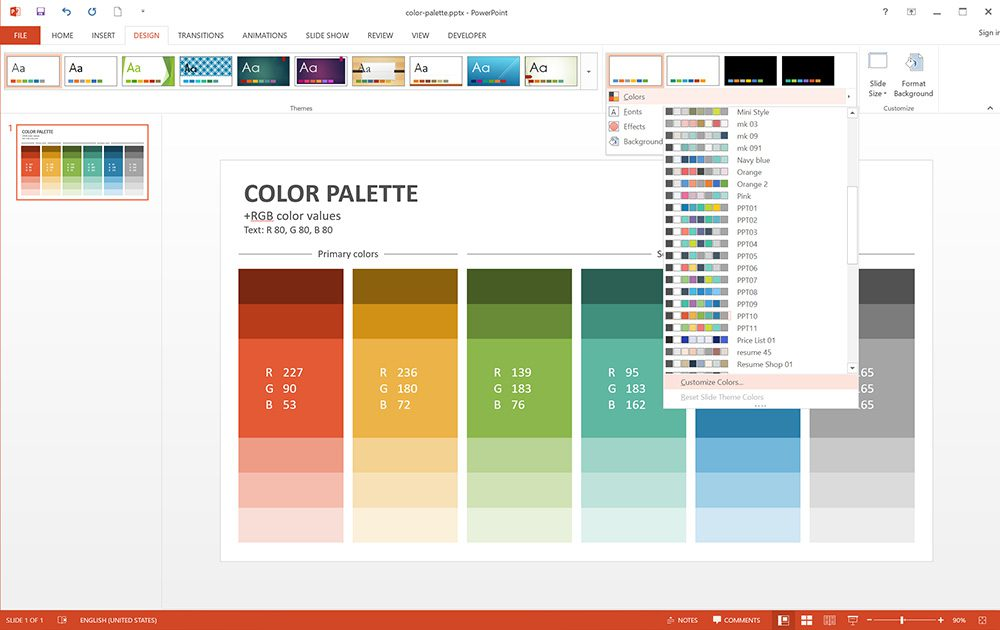 From The Edit Theme Colors Window Accent 1 6 Color That You Set As Will Be Primary When Draw Shapes