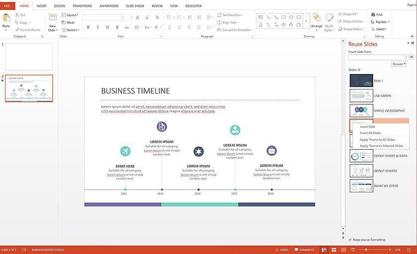 Merge PowerPoint presentations