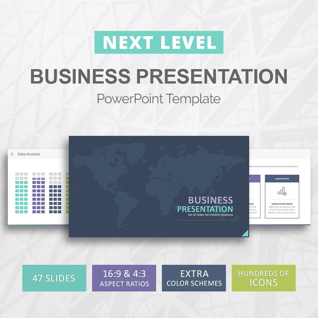 business presentation template for powerpoint - slideson, Presentation templates