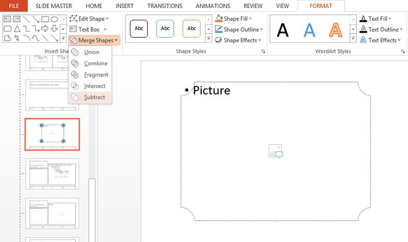 PowerPoint custom picture placeholder