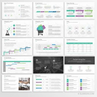 Project planning PowerPoint template