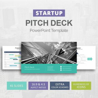 Startup Pitch Deck for PowerPoint