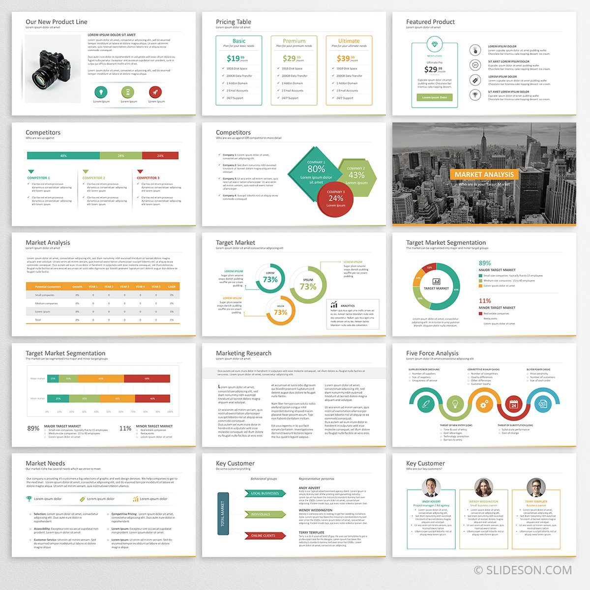 Business plan template for powerpoint slideson complete business plan accmission Images