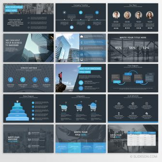 Pitch deck for PowerPoint