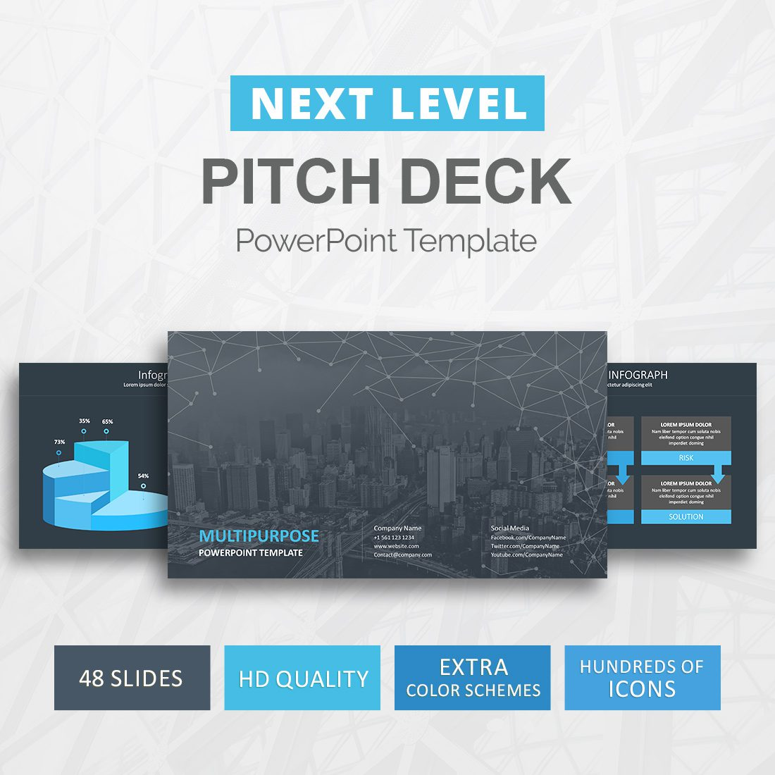 Next level pitch deck