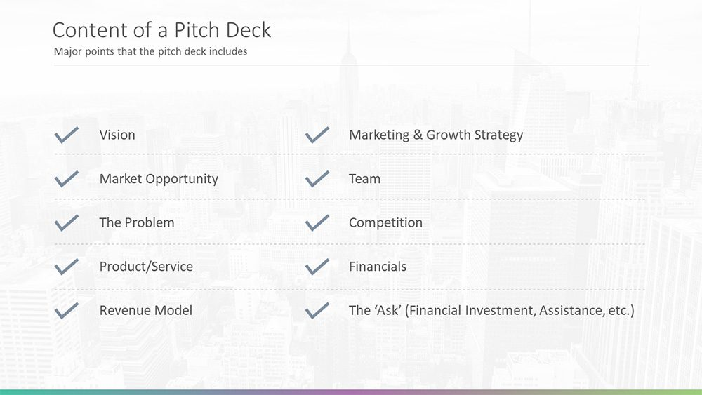 Pitch deck slide