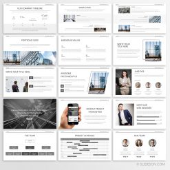 Minimal business presentation-3