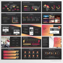 Gradient PPT template