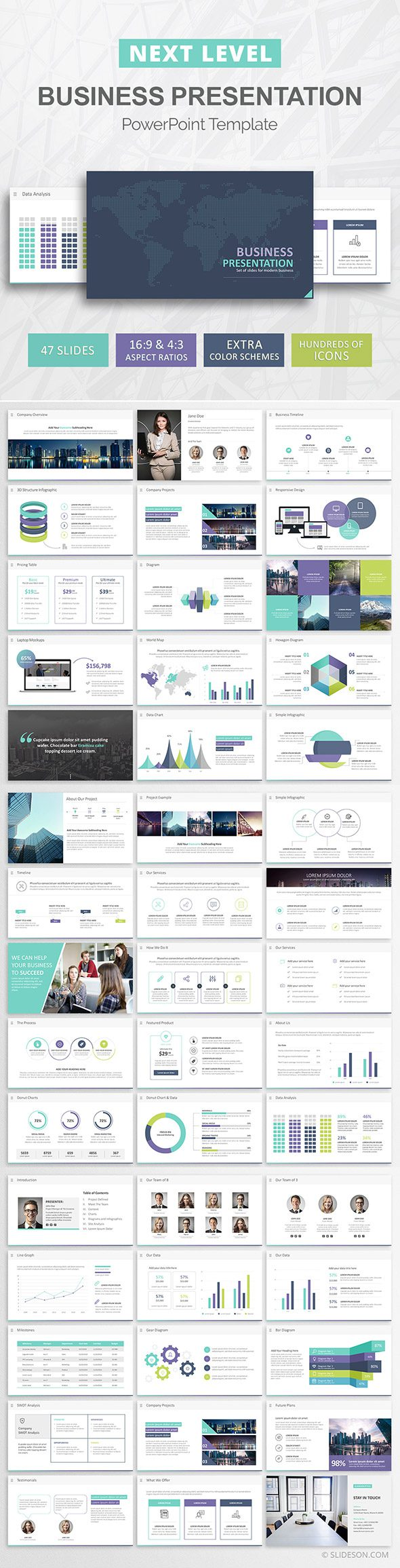 Best Business PowerPoint Template