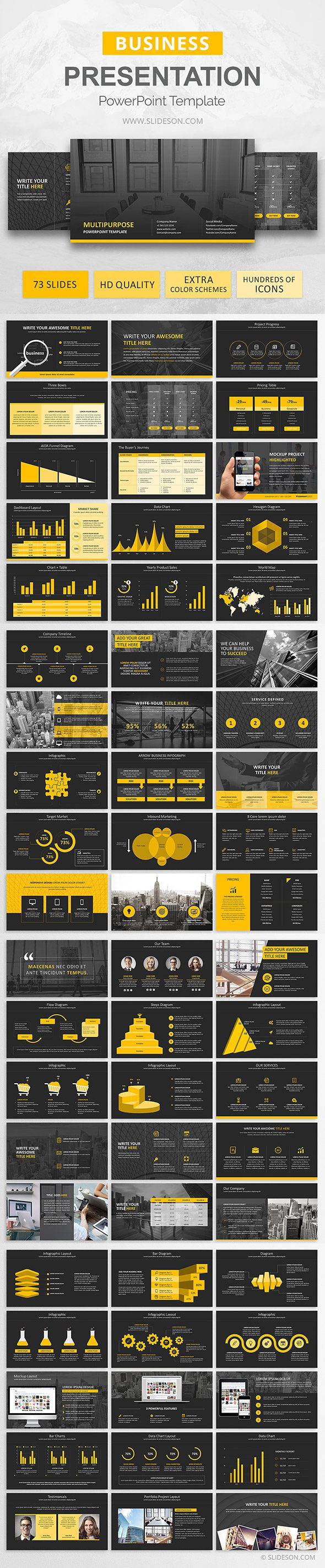 Multipurpose PowerPoint Business Template